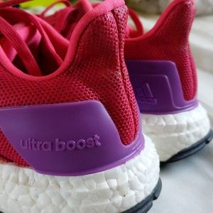 Adidas Pure Boost Energy Running Shoes 7.5 Fuschia